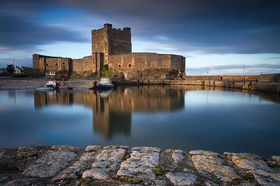 Evening Light In Carrickfergus