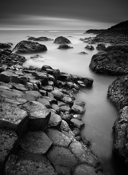 Portrait Of The Giant's Causeway