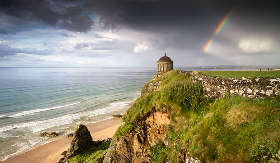 Magic Hour At Mussenden