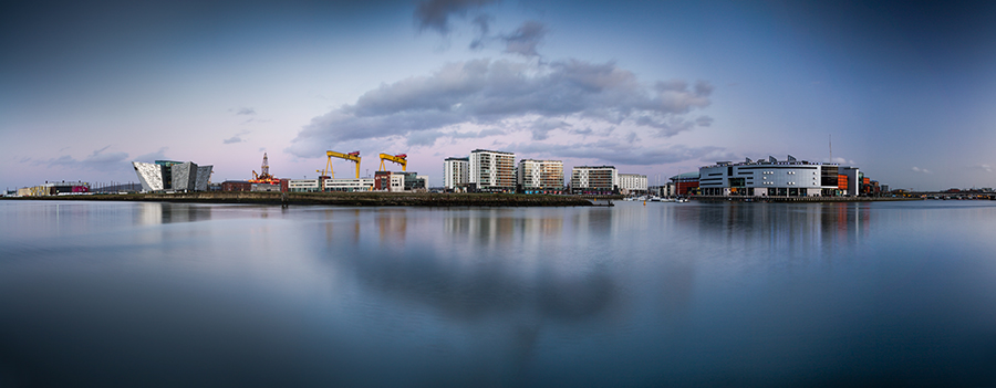 Belfast Dock Panoramic