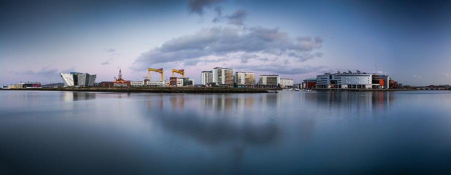 Belfast Docks Panoramic