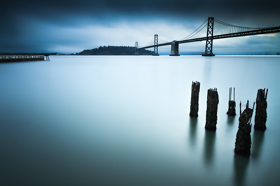 Blue Hour At Bay Bridge