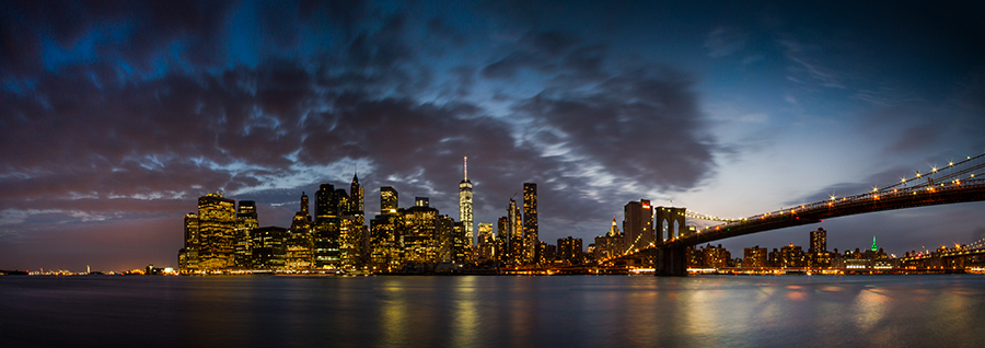 Manhattan Skyline - New York
