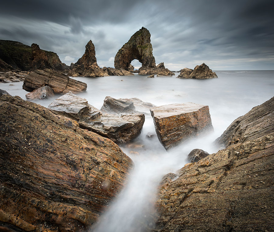 Crohy Sea Arch - Donegal