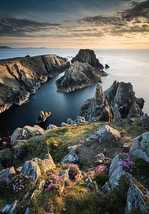 Sundown At Malin Head - Donegal